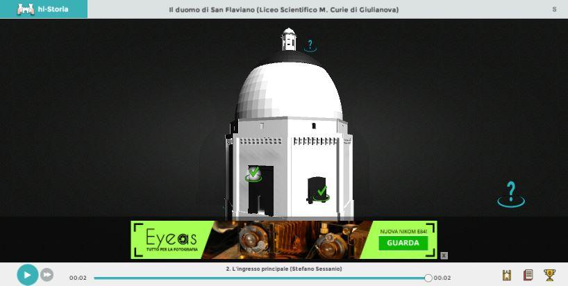 Schermata dell'applicazione e demo di banner pubblicitario