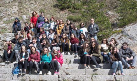 Con UnescoEDU e Hi-Storia labs Sulmona all'eremo di Sant'Onofrio al Morrone