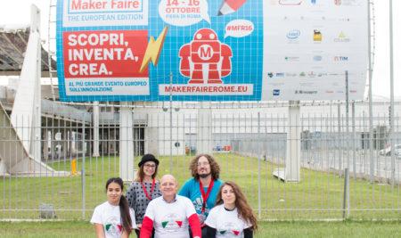 Le scuole di Hi-Storia Labs alla Maker Faire Rome