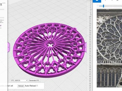 Geometria e storia dell'architettura con Javascript e Openjscad