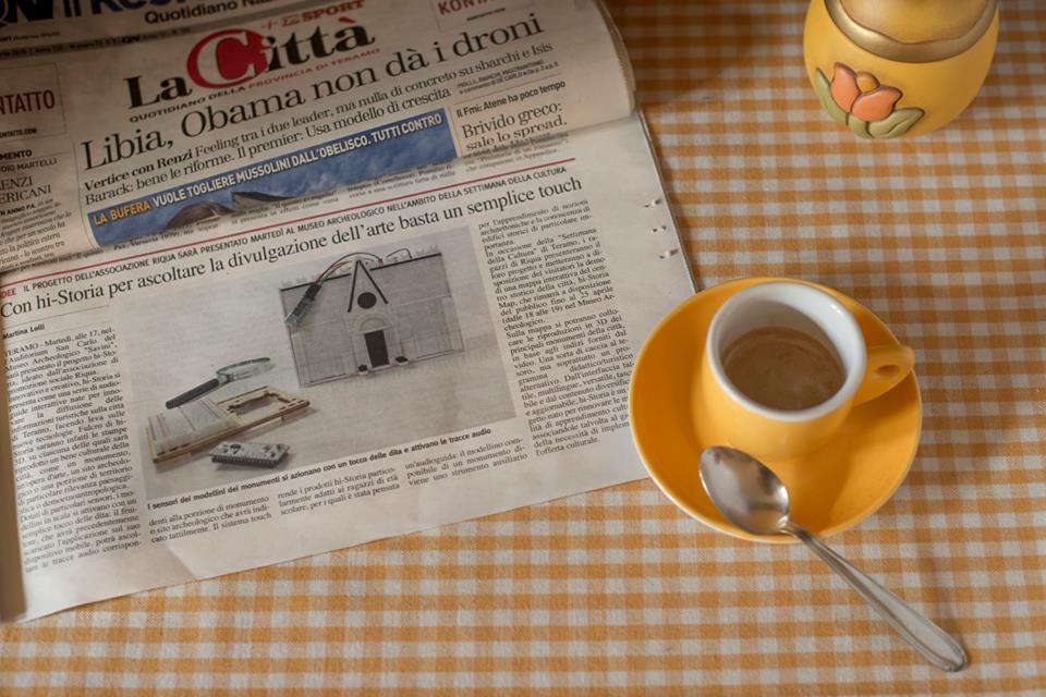 Hi-Storia intervistata da La Città, gruppo editoriale QN